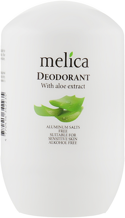 Дезодорант с экстрактом алоэ - Melica With Aloe Extract Deodorant