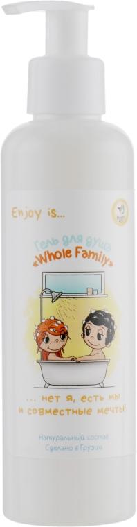 """Натуральный гель для душа """"Whole Family"""" - Enjoy & Joy Eco"""