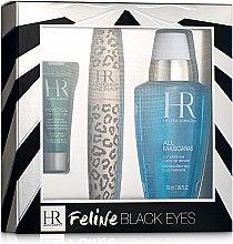 Духи, Парфюмерия, косметика Набір - Helena Rubinstein Lash Queen Feline Blacks Mascara (mascara/7.2ml + lot/50 ml + eye/care/3ml)