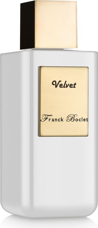 Franck Boclet Velvet - Духи