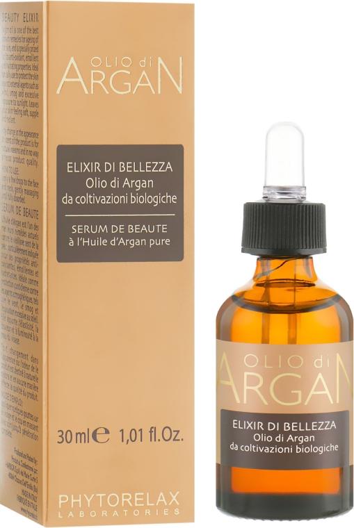 Эликсир для лица с аргановым маслом - Phytorelax Laboratories Olio di Argan Elixir Of Beauty