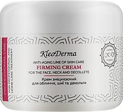 Духи, Парфюмерия, косметика Укрепляющий крем для лица, шеи и декольте - Kleoderma Firming Cream