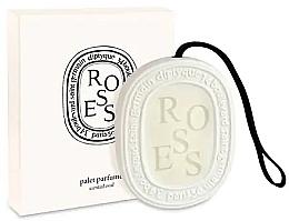 Духи, Парфюмерия, косметика Ароматизатор - Diptyque Roses Scented Oval