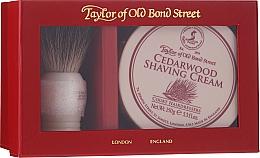 Духи, Парфюмерия, косметика Набор - Taylor of Old Bond Street Cedarwood (sh/brash + sh/cream/150g)