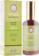 "Духи, Парфюмерия, косметика Аюрведическое масло для волос ""Амла"" - Khadi Hair Oil"