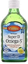 Духи, Парфюмерия, косметика Норвежский рыбий жир с витамином D - Carlson Labs Norwegian Super D Omega-3