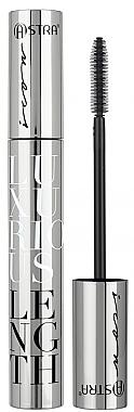 Тушь для ресниц с эффектом удлинения - Astra Make-up Luxurious Length Mascara