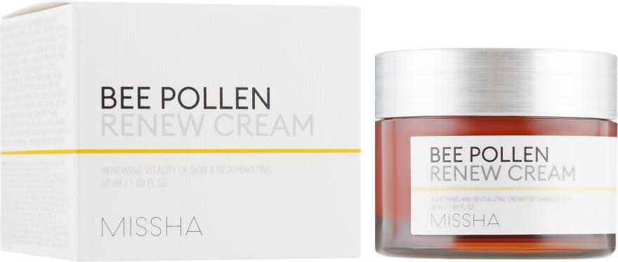 Крем для лица обновляющий - Missha Bee Pollen Renew Cream