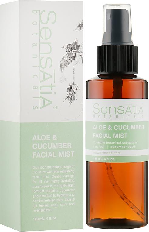 """Мист для лица """"Алое и Огурец"""" - Sensatia Botanicals Aloe & Cucumber Facial Mist"""