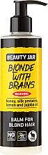 "Духи, Парфюмерия, косметика Бальзам для волос ""Blonde With Brains"" - Beauty Jar Balm For Blond Hair"