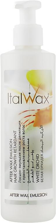"""Лосьон-эмульсия после депиляции с приостановлением роста волос """"Белая Орхидея"""" - ItalWax"""