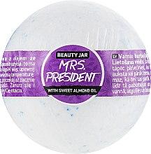 "Парфумерія, косметика Бомба для ванни ""Mrs. President"" - Beauty Jar Relax Natural Bath Bomb"