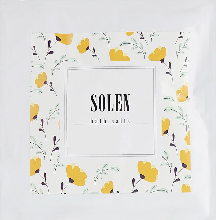 """Соль для ванн """"Мед"""" - Solen Honey Dead Sea Bath Salt"""