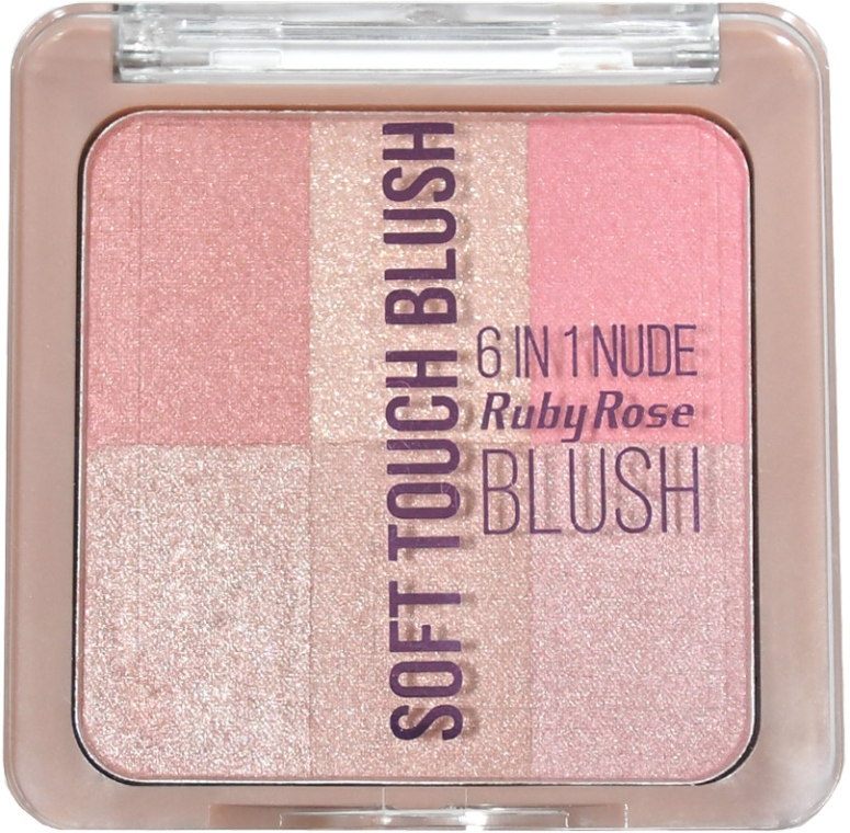 Румяна - Ruby Rose Soft Touch 6 In 1 Blush