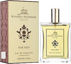 Духи, Парфюмерия, косметика Woods of Windsor For Men - Туалетная вода