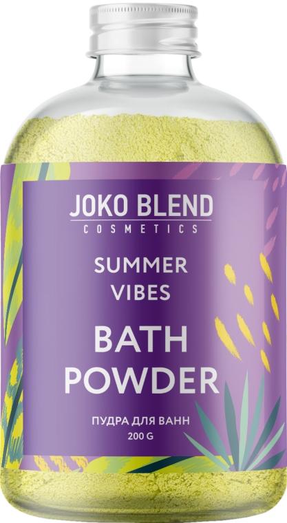 Бурлящая пудра для ванны - Joko Blend Summer Vibes