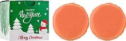 Духи, Парфюмерия, косметика Мыло с ароматом апельсина - Unice Orange Macaron Soap