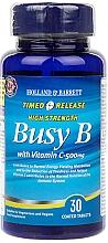 "Духи, Парфюмерия, косметика Пищевая добавка ""Комплекс B с витамином С с замедленным высвобождением"" - Holland & Barrett Timed Release Busy B Complex With Vitamin C 500mg"