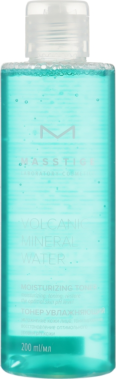 Увлажняющий тонер для лица - Masstige Volcanic Mineral Water Moisturizing Toner