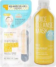 "Духи, Парфюмерия, косметика Двухфазная маска для лица ""Тосканская капуста и грейпфрут"" - Ariul Juice Cleanse 2X Plus Mask Pack Kale & Grapefruit"