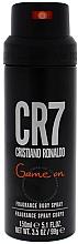 Духи, Парфюмерия, косметика Cristiano Ronaldo CR7 Game On - Дезодорант-спрей