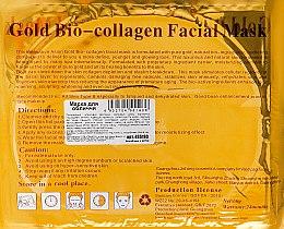 """Маска для лица с коллагеном """"Золотая"""" - Beauty Line Gold Bio-Collagen Facial Mask — фото N2"""