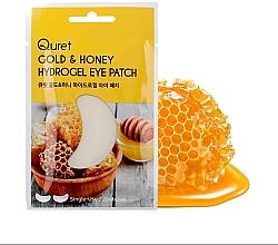Духи, Парфюмерия, косметика Патчи под глаза - Quret Gold&Honey Hydrogel Eye Patch