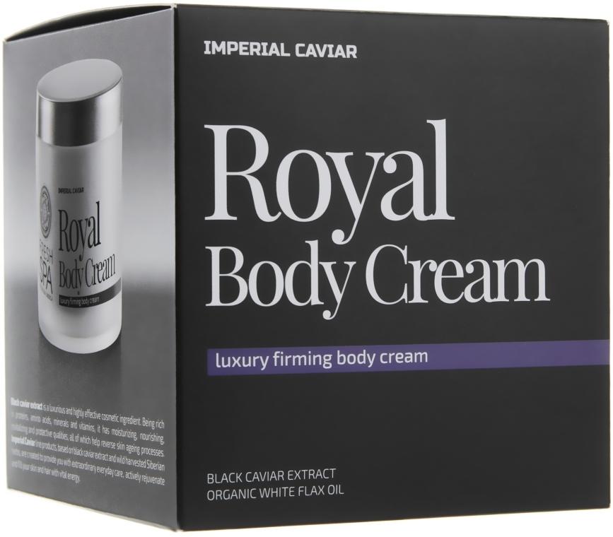 Королевский подтягивающий крем для тела - Natura Siberica Fresh Spa Imperial Caviar Royal Luxury Firming Body Cream