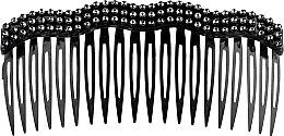 Духи, Парфюмерия, косметика Заколка-гребешок для волос, черная - Элита
