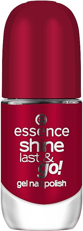 Лак для ногтей с эффектом гель-лака - Essence Shine Last & Go! Gel Nail Polish