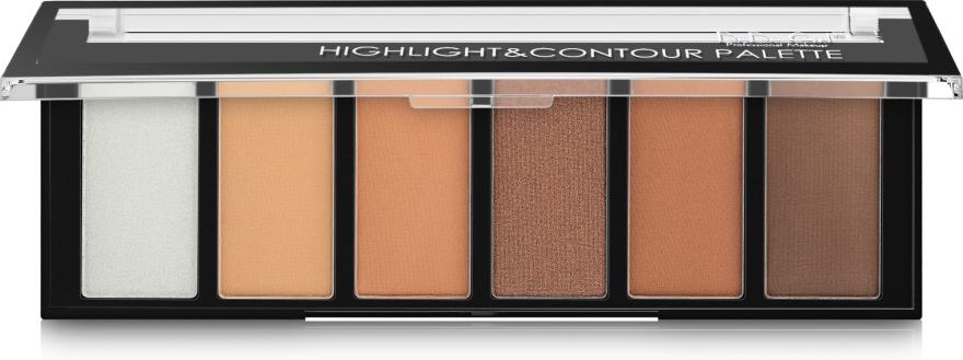 Палетка для контуринга - DoDo Girl Highlight & Countour Palette