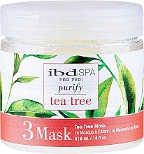 Духи, Парфюмерия, косметика Очищающая маска для ног с экстрактом чайного дерева - IBD Spa Tea Tree Purify Pedi Spa Mask