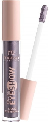Жидкие тени для век - Malva Cosmetics Metallic Liquid Cream Eyeshadow