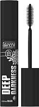 Духи, Парфюмерия, косметика Тушь для ресниц насыщенно черная - Lavera Bio Organic Deep Darkness Mascara