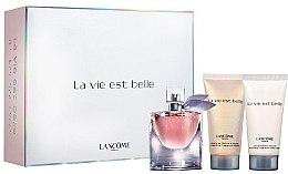 Духи, Парфюмерия, косметика Lancome La Vie Est Belle - Набор (edp/30ml + b/lot/50ml + sh/gel/50ml)