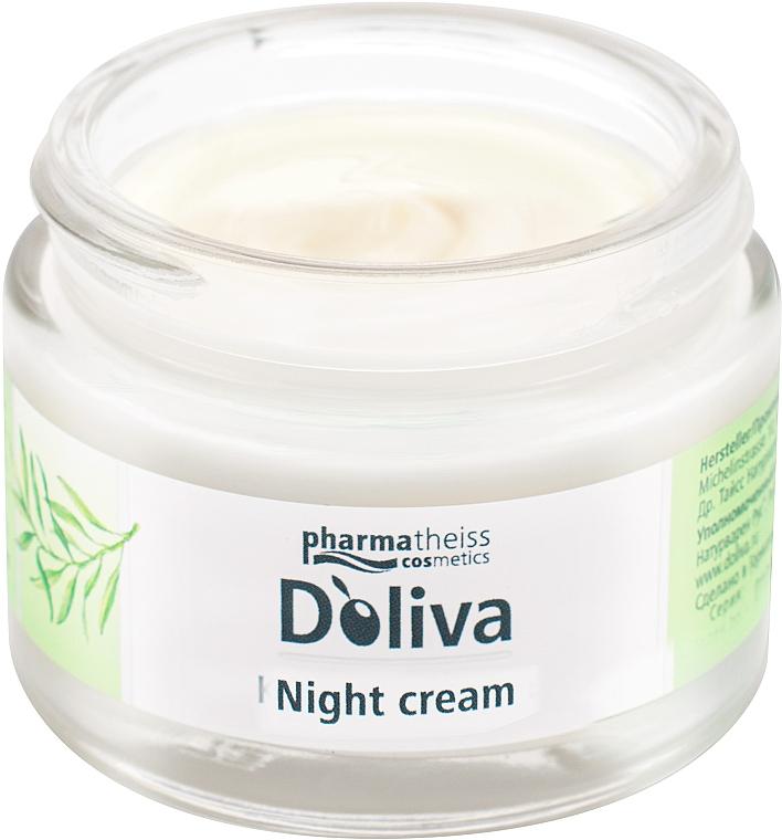 """Крем для лица """"Ночной уход с керамидами"""" - D'oliva Pharmatheiss Cosmetics"""