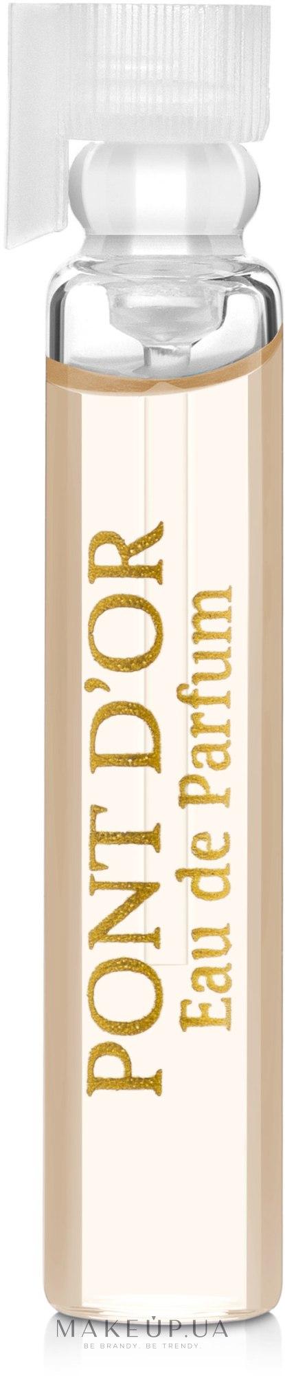 Faberlic Pont d'Or - Парфюмированная вода (пробник) — фото 1.5ml