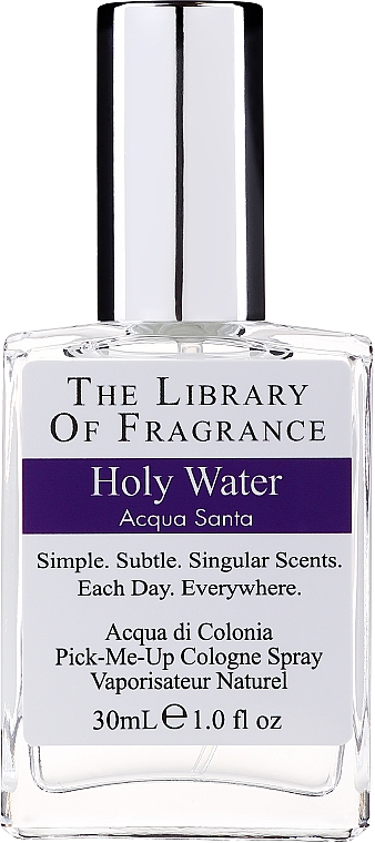 Demeter Fragrance The Library Of Fragrance Holy Water - Одеколон