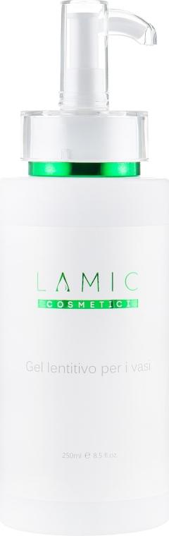 Аппаратный гель успокаивающий сосуды - Lamic Cosmetici Gel Lentitivo Per I Vasi