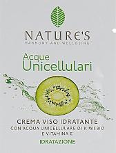 Духи, Парфюмерия, косметика Увлажняющий крем для лица - Nature's Acque Unicell (пробник)