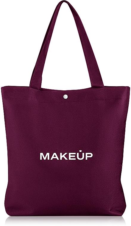 "Сумка-шоппер марсала ""Easy Go"" - Makeup"