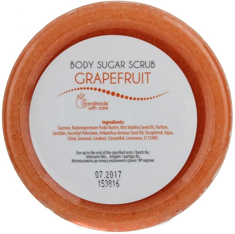 Скраб для тіла цукровий - Ceano Cosmetics Body Sugar Scrub Grapefruit — фото N2