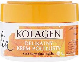Духи, Парфюмерия, косметика Увлажняющий крем для сухой и нормальной кожи лица - Celia Collagen Soft Semi-Rich Face Cream