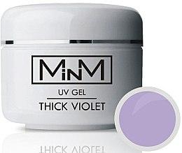 Парфумерія, косметика Моделювальний гель, фіолетовий, щільний - M-in-M Thick Violet