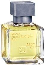 Духи, Парфюмерия, косметика Maison Francis Kurkdjian Apom Pour Femme - Парфюмированная вода (тестер с крышечкой)
