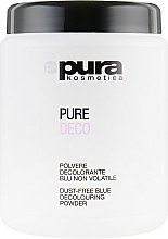 Духи, Парфюмерия, косметика Порошок для волос осветляющий, синий - Pura Kosmetica Pure Deco Blue