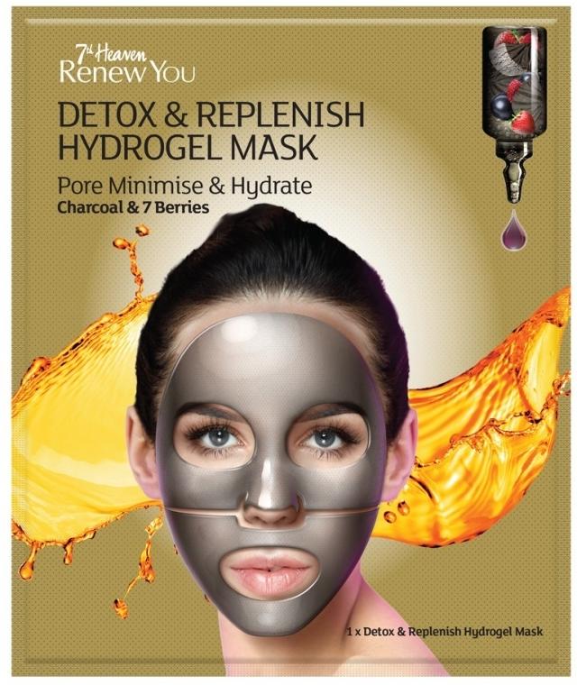 Гидрогелевая маска для лица - 7th Heaven Renew You Detox Replenish Hydrogel Mask