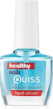 Духи, Парфюмерия, косметика Жидкий кальций - Quiss Healthy Nails №4 Liquid Calcium