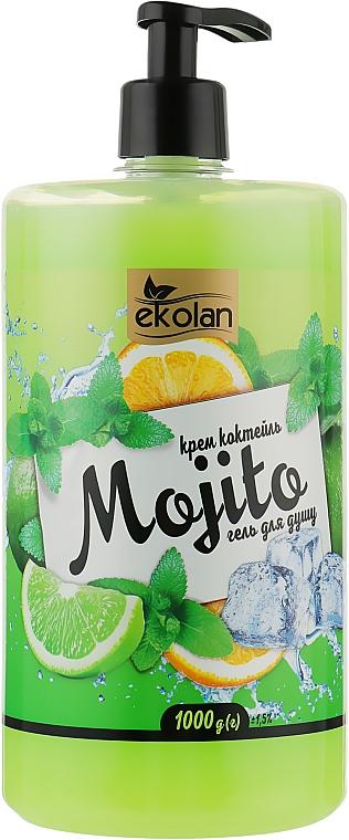 """Гель для душа, крем-коктейль """"Mohito"""" с дозатором - EkoLan"""
