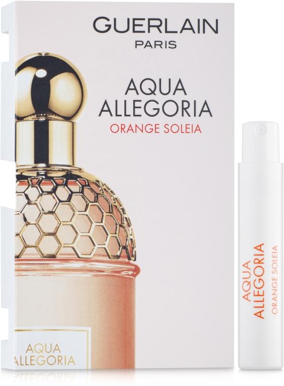 Guerlain Aqua Allegoria Orange Soleia - Туалетная вода (пробник)
